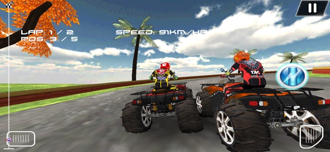 ATV Bike Offroad Madness
