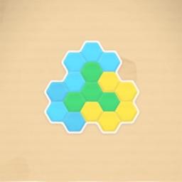 五彩六边形-六边形俄罗斯方块新玩法
