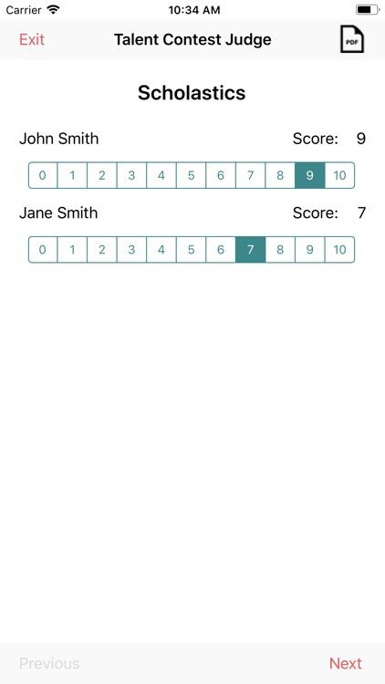 Talent Competition Judge screenshot-7
