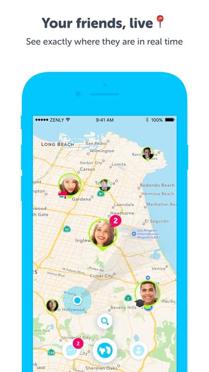 Zenly - Locate your friends in realtime screenshot-0