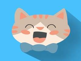 Face cats emoji for iMessage
