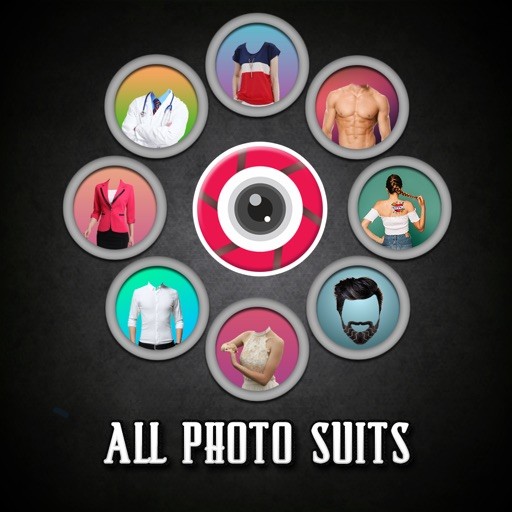 All Fashion Suit Photo Montage