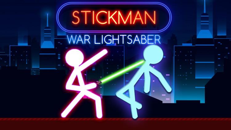 Stickman War Lightsaber Games