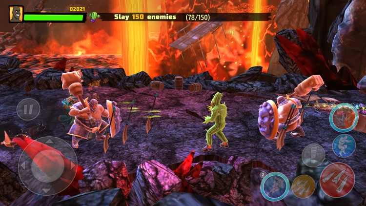 Shaq Fu: A Legend Reborn screenshot-1