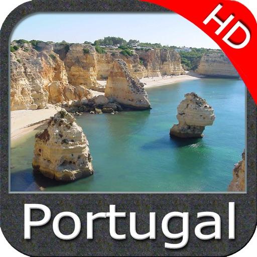 North Spain Portugal HD GPS nautical fishing chart