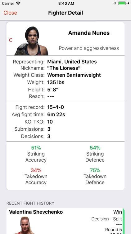 MMA Calendar screenshot-4