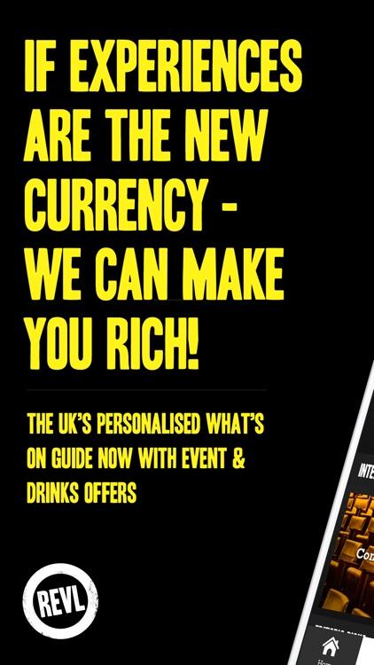 REVL: What's On & Tickets UK screenshot-0