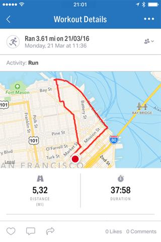 Map My Run by Under Armour screenshot 2