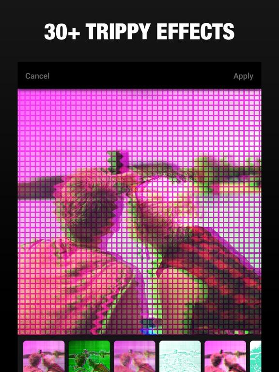 3D Effect- Glitch Camera Photo   App Price Drops
