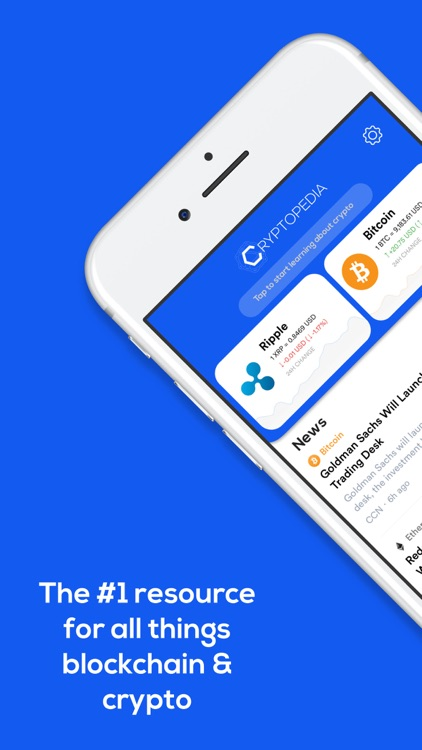 Cryptopedia -- Learn Crypto