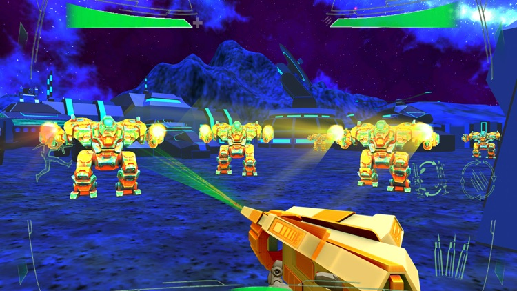 Futuristic Mech Robots Battle screenshot-2