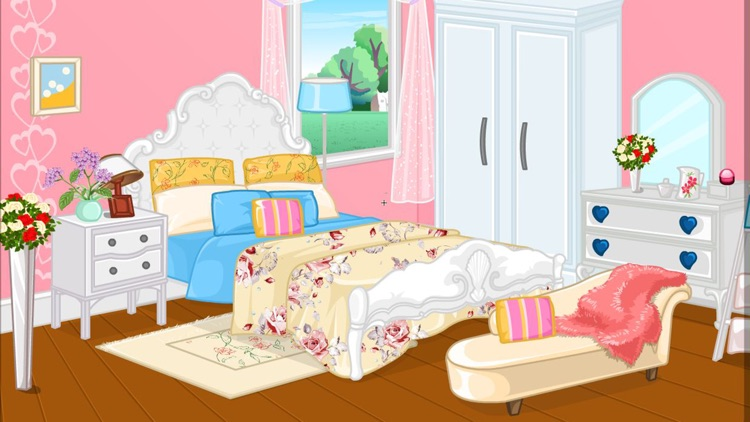 Girly room decoration game screenshot-5