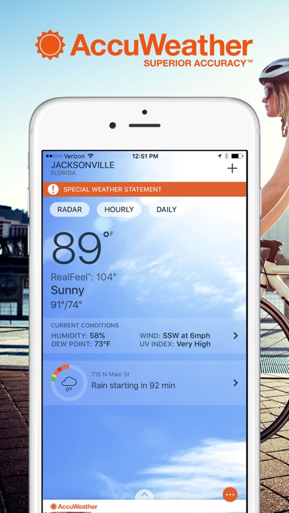 Accuweather App For Iphone