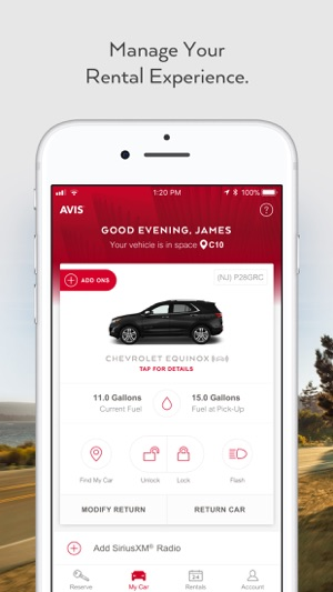 Avis - Car Rental on the App Store 820e6f1b06b