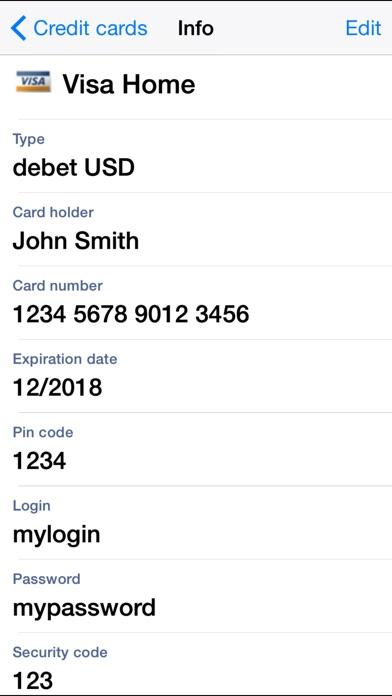 PassDirector - secure database Screenshots