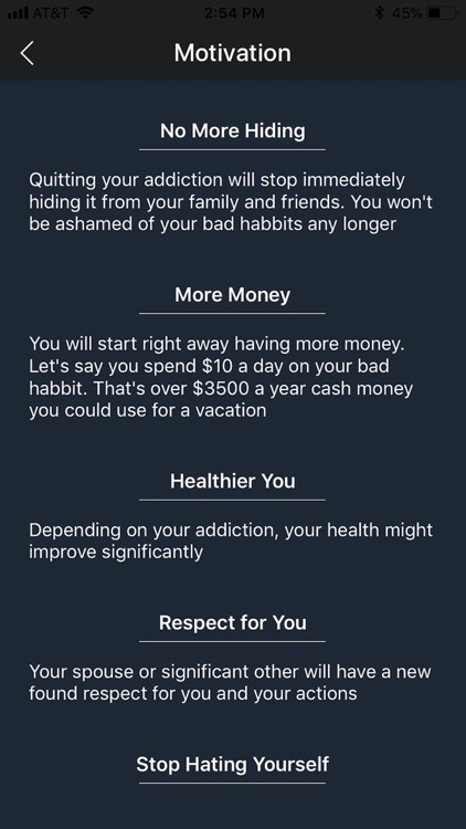 Quit Drinking & Smoking System screenshot-3