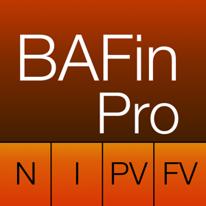 BA Finance Pro app