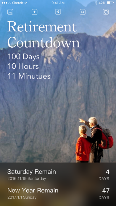 Download Countdown: Event Countdown App for Pc
