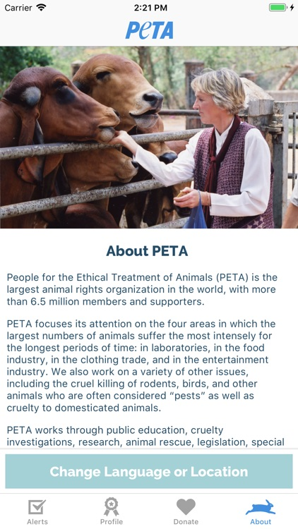 PETA: Saving Animals Made Easy screenshot-3