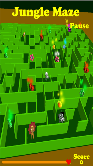 Jungle Maze screenshot four