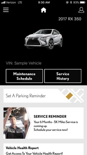 Lexus drivers on the app store screenshots sciox Images