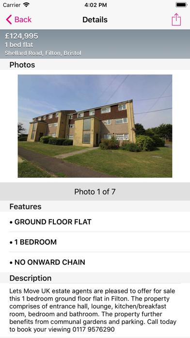 Lets Move UK Estate Agents screenshot two