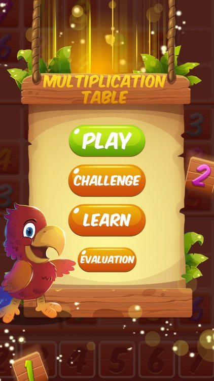 New Multiplication Table