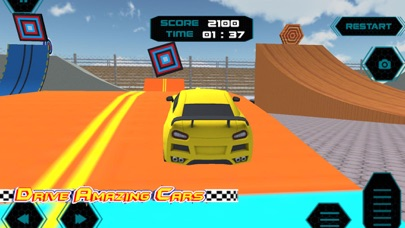 Extreme Jump Stunts Car screenshot one