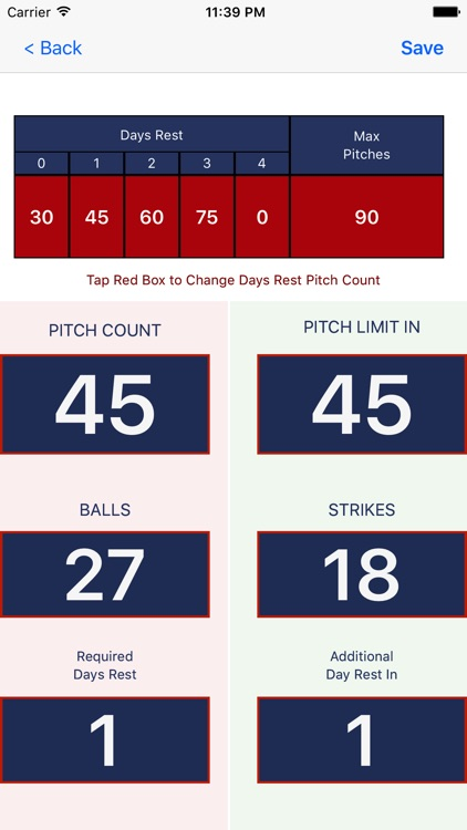 Smart Pitch Counter