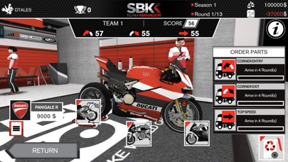SBK Team Manager Screenshots