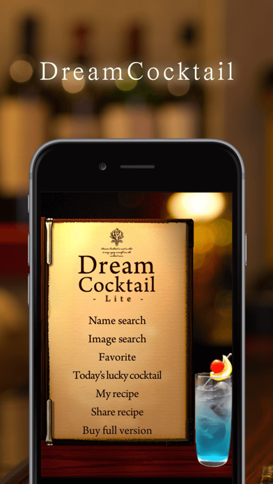 DreamCocktail Lite ScreenShot0