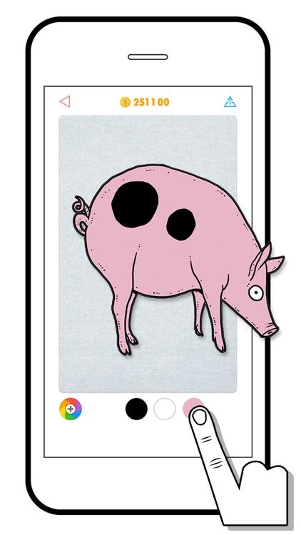100 PICS Coloring Quiz Game