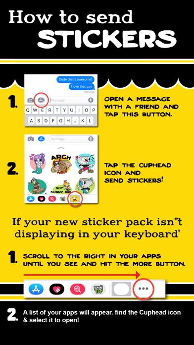 Скриншот №5 к Cuphead Stickers