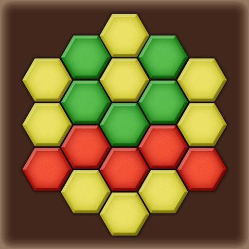 Color Lines. Hexagon