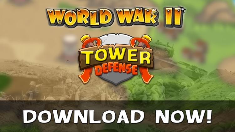 WWII Tower Defense screenshot-4