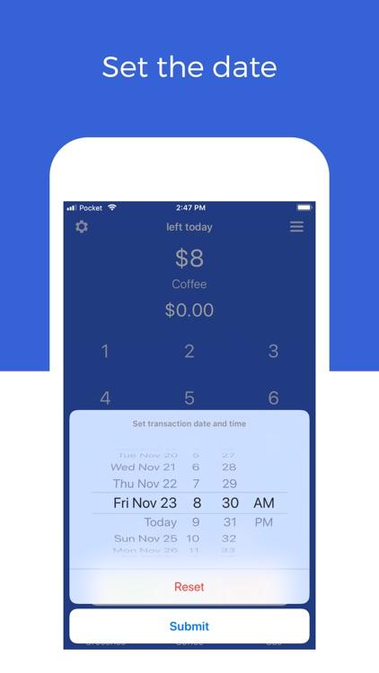 Pocket: Track Daily Spending screenshot-6
