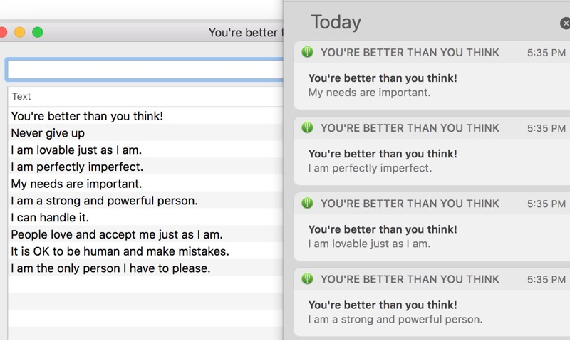 You're better than you think for Mac