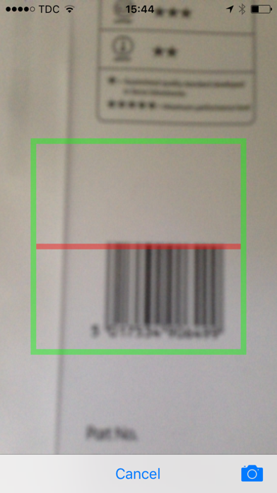Barcode scanning with Google Shopping screenshot one