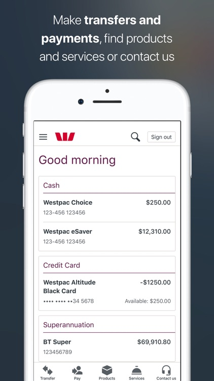 Westpac Mobile Banking screenshot-4