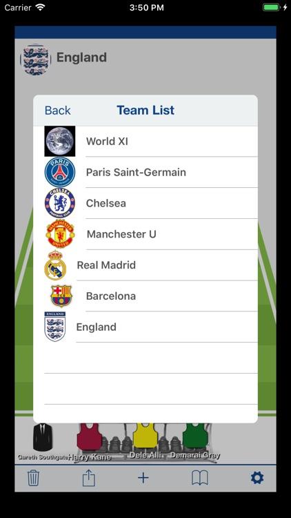 Soccer Best LineUp Maker App screenshot-6