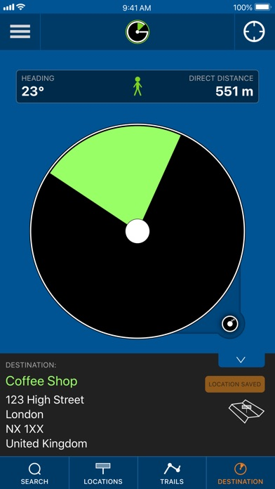 NaviGoto - Simple Navigation screenshot #2
