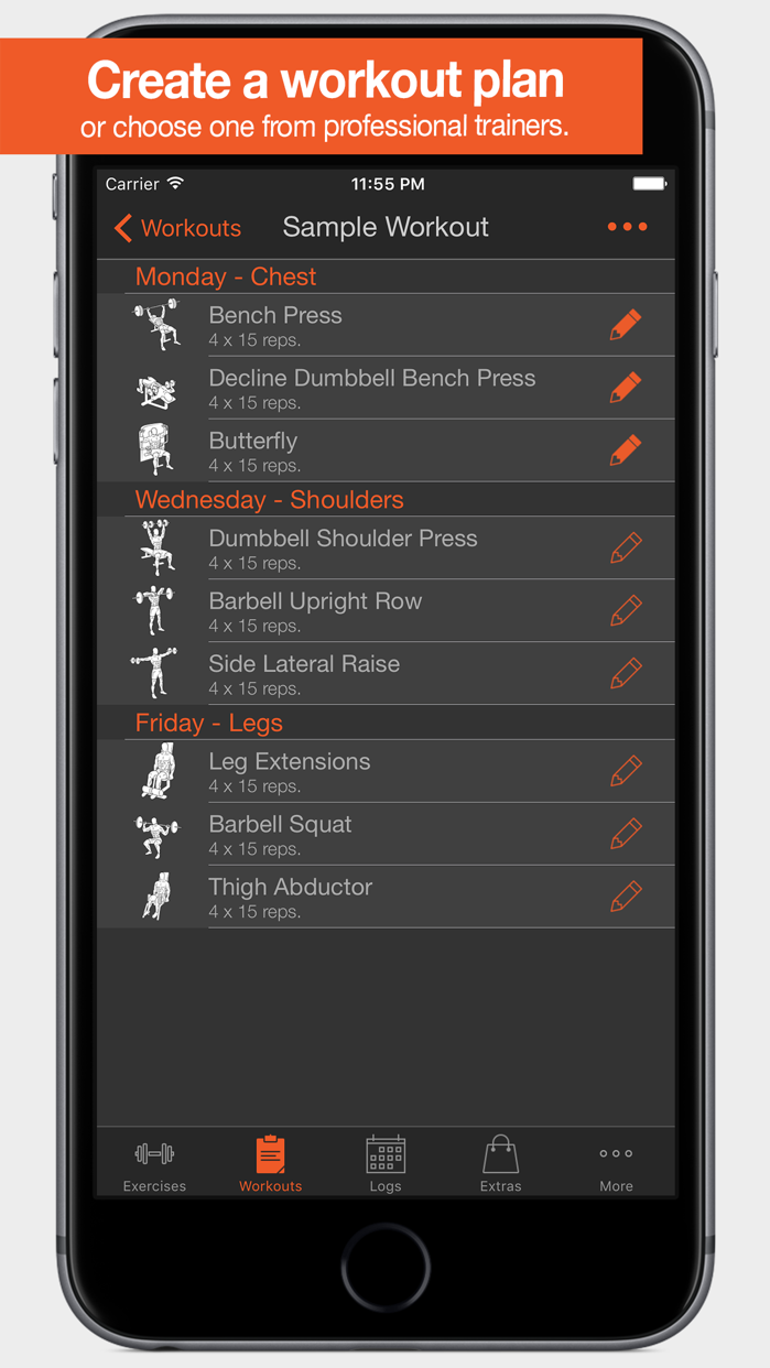 Fitness Point Screenshot