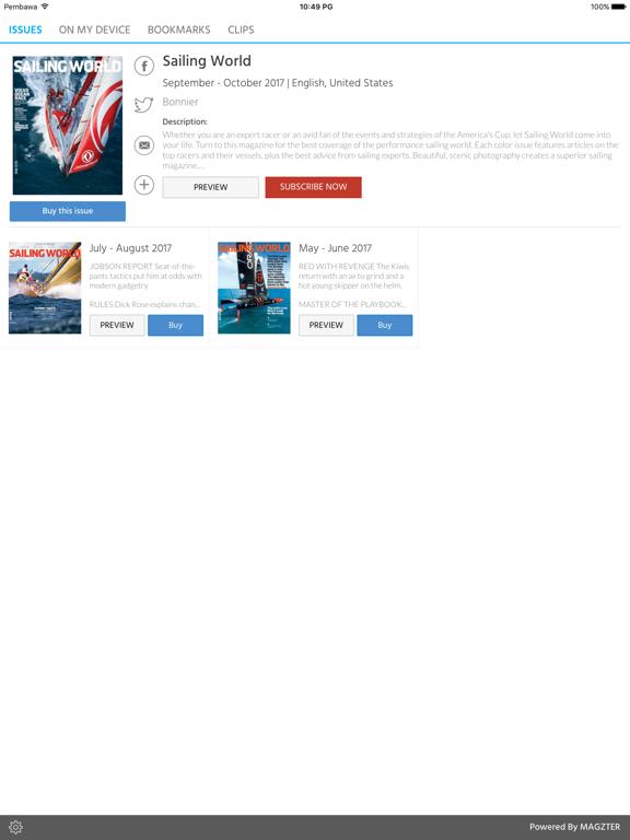 Sailing World screenshot 5