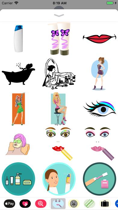 点击获取Lotsa Cosmetic Stickers