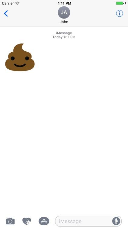 Poop emoji pack screenshot-4