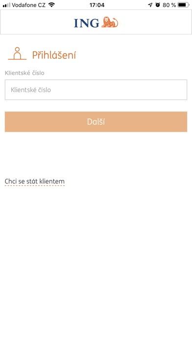 Screenshot for ING Bank CZ in Czech Republic App Store