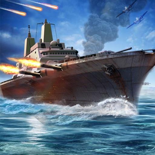 US Navy Fleet Battle Warship