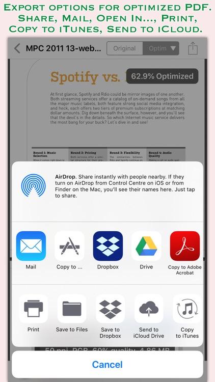 PDFOptim screenshot-3