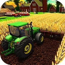Farming Tractor Harvesting Sim