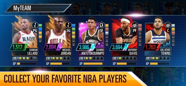 NBA 2K Mobile Basketball Screenshot